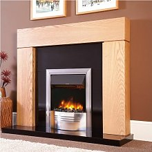 Electric Fireplace Stove Heater Fire Flame Effect