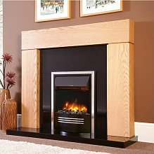 Electric Fireplace Stove Heater Fire Place Flame