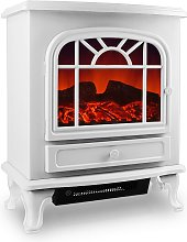 Electric Fireplace With Heating and LED Fire
