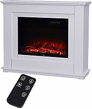 Electric Fireplace with Surround, 30 inch Electric