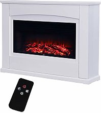 Electric Fireplace with Surround, 34 inch Electric
