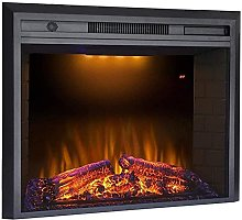 Electric fireplace with surround dimplex electric