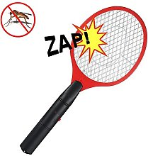 Electric Fly Swatter Bug Zapper Battery Operated