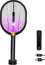 Electric Fly Swatter Bug Zapper Racket Mosquito