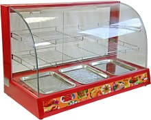 Electric Food Warmer Showcase Display Cabinet