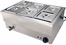 Electric Food Warmer Stainless Steel Bain Marie