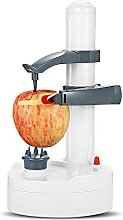 Electric Fruits Peeler Cutter, Automatic Rotating