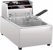 Electric Fryer for The Home with Basket,