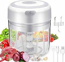 Electric Garlic Chopper, 250ML Portable Food