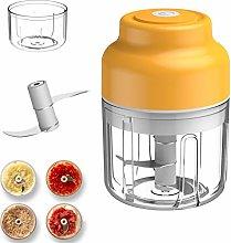 Electric Garlic Press Automatic Hand Blender Food