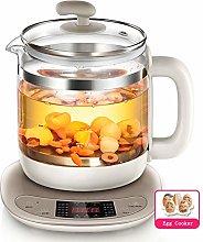 Electric Glass Kettle, Multi-use Borosilicate