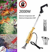 Electric Grass Burner, Weed Burner 2000w Up to