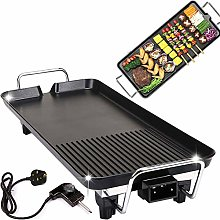Electric Griddle Adjustable Temperature Smokeless