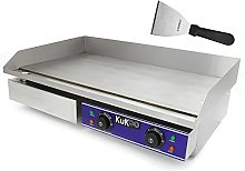 Electric Griddle Commercial Plate 70cm Large