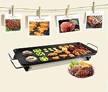 Electric Griddle, Non-Stick Teppanyaki Grill Pan,