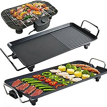 Electric Griddle Smokeless Electric Grill