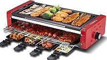 Electric Grill, 1500w Grill, Lndoorportable 2 in 1