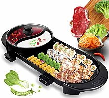 Electric Grill Hot Pot for 2-12 People, 2000W
