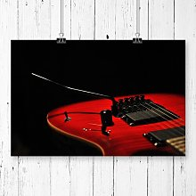 Electric Guitar Photographic Print Big Box Art