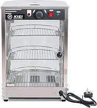 Electric Heated Pie Food Warmer Stainless Steel