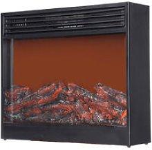 Electric Heater Fireplace Winter Log Burning Fire