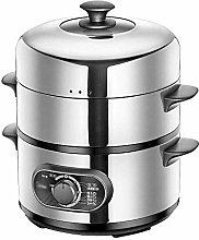 Electric Heating Food Steamer 3 Layer