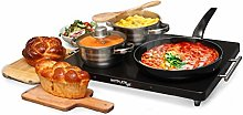 Electric Hot Plate Food Warmer – Rapid-Heating
