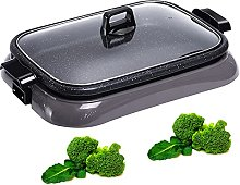 Electric Indoor Grill with Lid, Electric Indoor