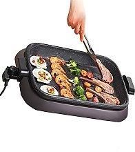 Electric Indoor Grill with Lid, Indoor Barbecue