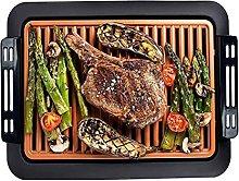 Electric Indoor Smokeless Grill,Adjustable