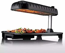 Electric Indoor Smokeless, Non-Stick Grill with
