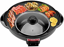 Electric Induction Hot Pot Cooker, 1200W 2 in 1