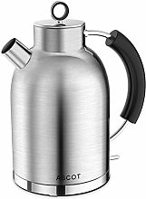 Electric Kettle, ASCOT Stainless Steel Kettle,