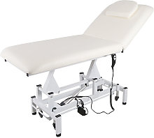 Electric Lift SPA Beauty Couch Massage Bed, White