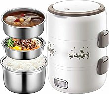 Electric Lunch Box, 270W 2.0L Three-Layer Large