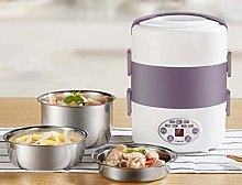 Electric Lunch Box Pluggable Heating Automatic