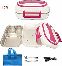 Electric Lunch Box Stainless Steel Home Office Car