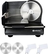 Electric Meat Slicer Machine for Home, Adortec