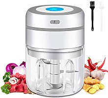 Electric Mini Garlic Chopper and Food
