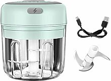 Electric Mini Garlic Chopper, Food Slicer and