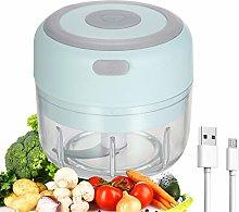 Electric Mini Garlic Chopper Food Slicer Portable