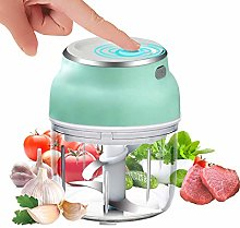 Electric Mini Garlic Chopper, Portable Food Slicer