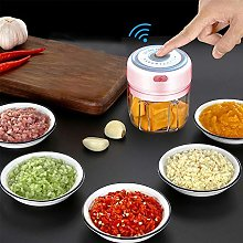 Electric Mini Garlic Chopper Slicer,Wireless