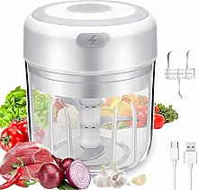 Electric Mini Garlic Chopper Slicer, Wireless