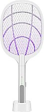 Electric Mosquito Killer Fly Swatter with UV Lamp