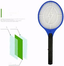 Electric mosquito swat, LED lighting, rechargeable