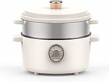 Electric Multi-Cooker 2 L Slow Cooker With 3 Heat