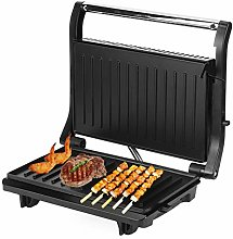 Electric Panini Press Grill, 750W Floating Grill
