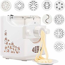 Electric Pasta Maker, Pasta Machines with 9Molds
