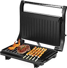 Electric Press Grill, 750W Toaster Double Heating